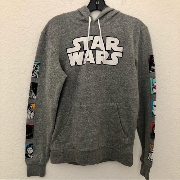 Star Wars Graphic Hooded Sweatshirt